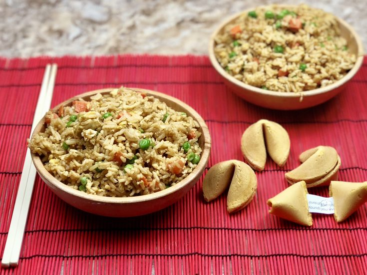 Instant Pot Fried Rice ⋆ By Pink