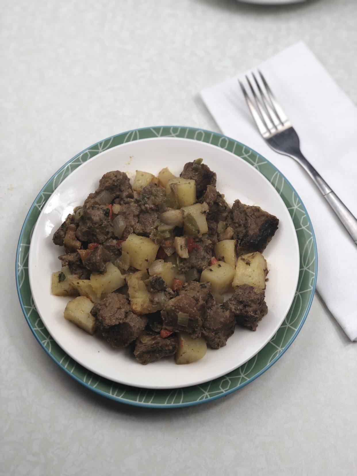 Air Fryer Steak Hobo Dinner Recipe (Air Fryer Steak and Potatoes)