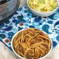 Instant Pot Spaghetti (Pressure Cooker Spaghetti)