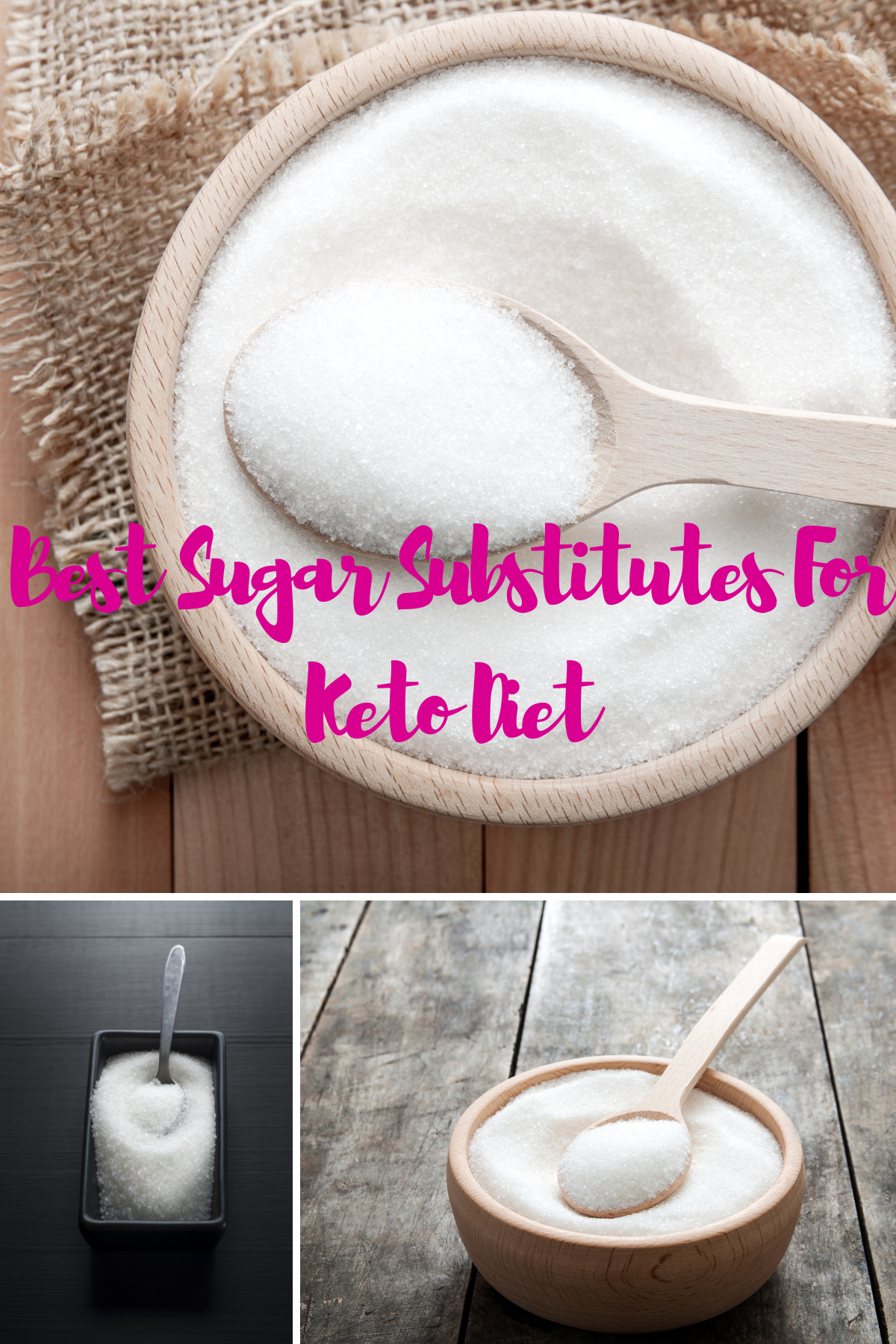 What are the best Keto sugar substitutes to incorporate into your meals without getting off track on your diet?