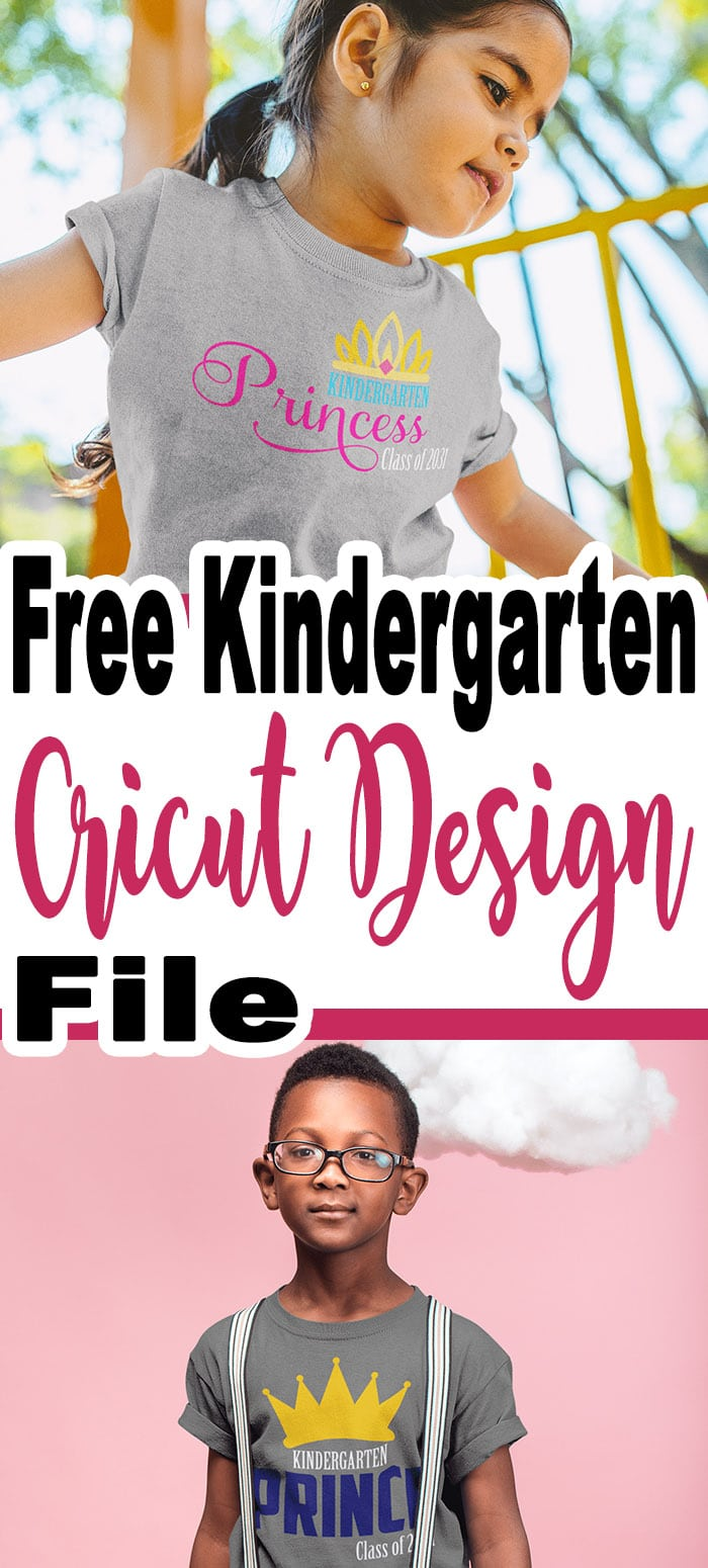School will be back in session soon and many kids will be starting their first day of kindergarten? Lets celebrate with a free Cricut design? #kindergarten #firstdayofschool #tshirtdesign #cricutmade #cricut #cricutexplore