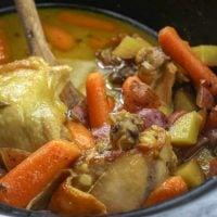 Honey Mustard Chicken and Veggies in the Slow Cooker