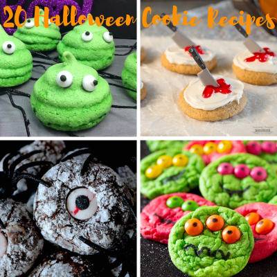 20 Halloween Cookie Recipes To Give Your Guest A Fright