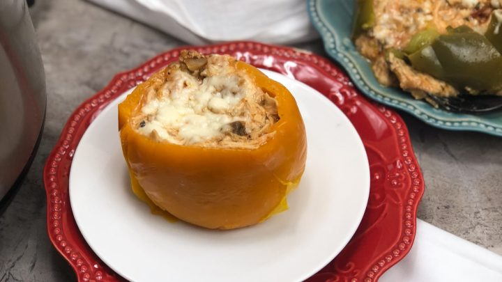 Low Carb Pizza Stuffed Peppers Recipe
