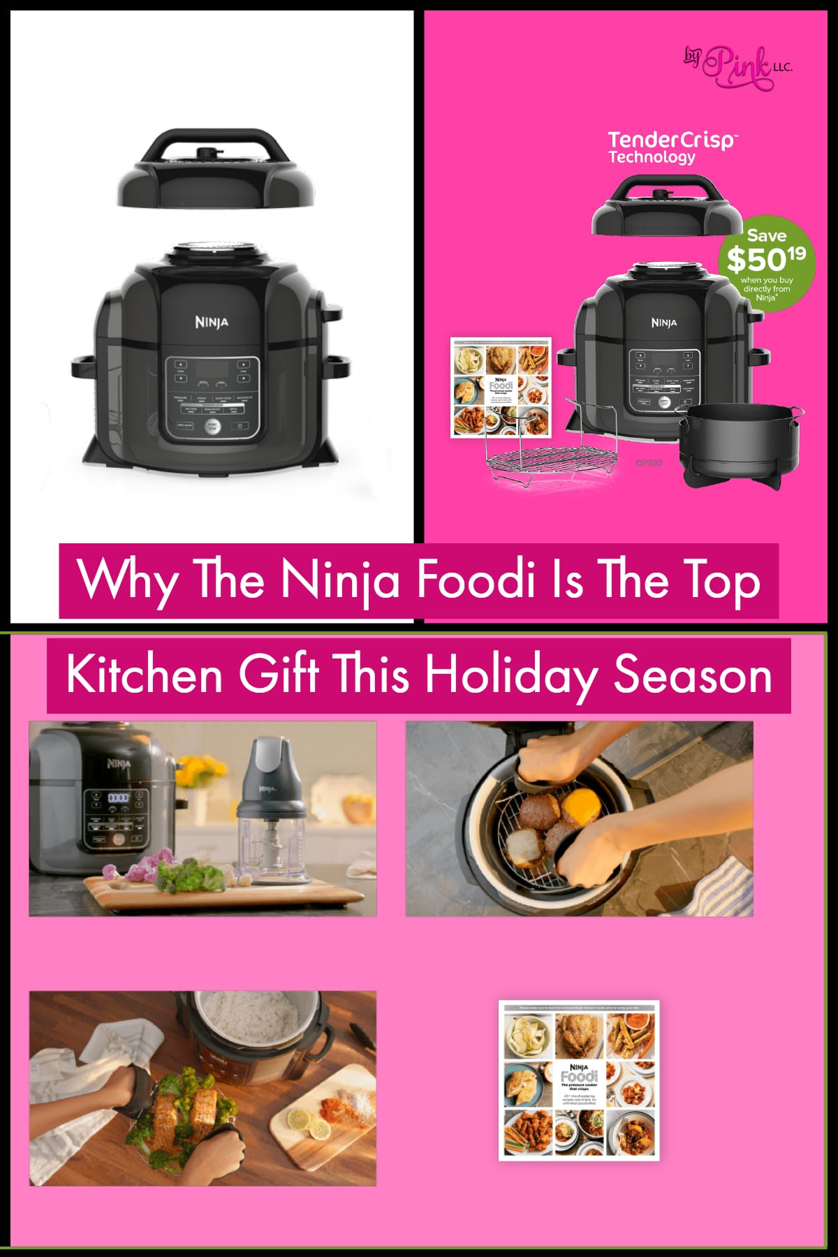 Last year the world was hit by a world wind from the Instant Pot, and this year the Ninja Foodi is ramping up speed! The Ninja Foodi is going to be the top foodi gift this holiday season on so many peoples wishlist!
