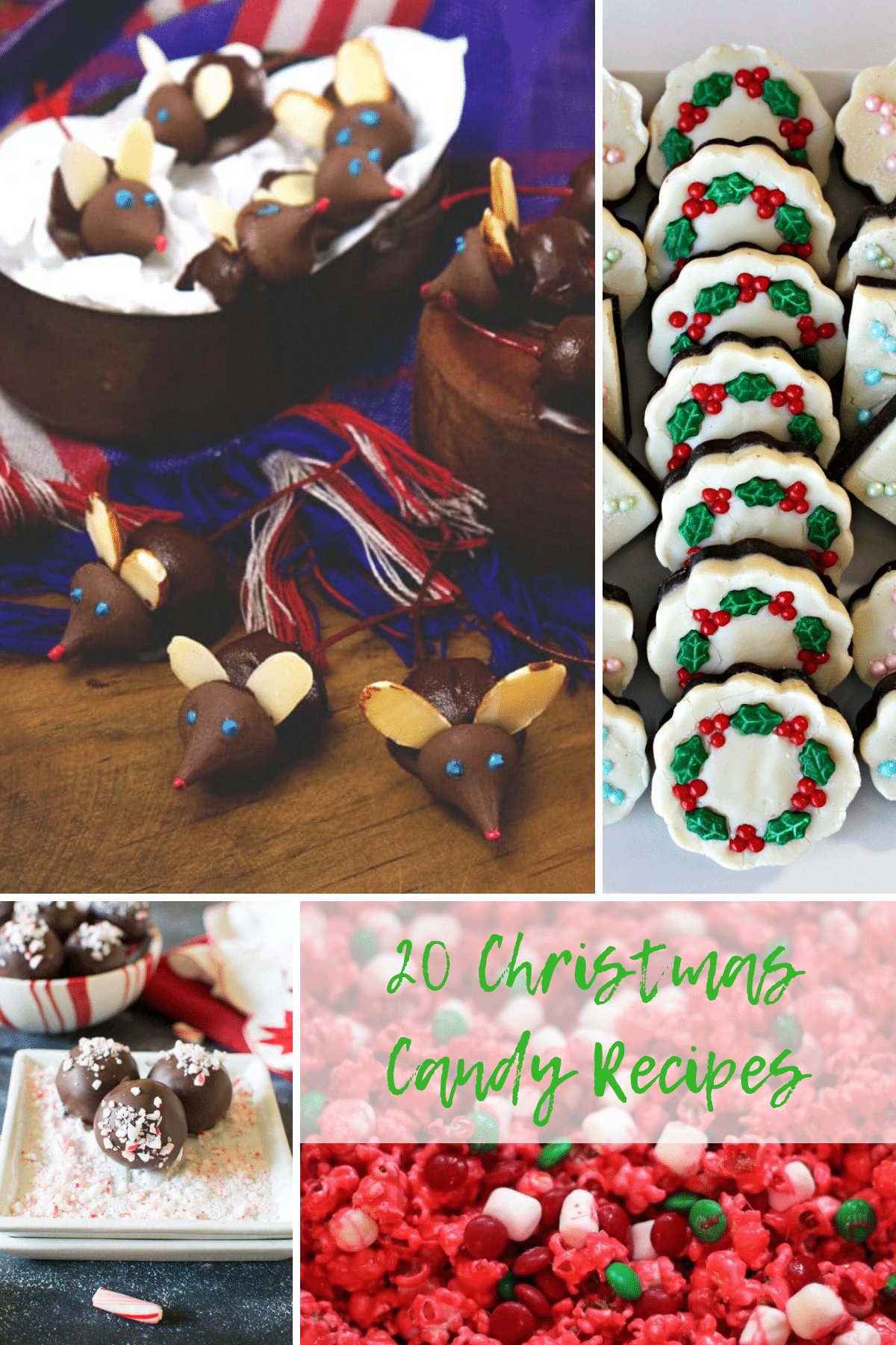 I know I love a tasty Christmas candy, and I wanted to share a handful of my favorite Christmas candy recipes with you guys!