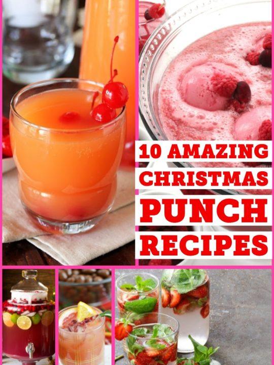 10 Amazing Christmas Punch Recipes