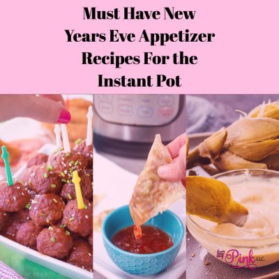 Looking to take your New Years Eve party to the next level this year? Check out these must-have New Years Eve appetizer recipes for the Instant Pot! #instant #pot #new #years #eve #appetizer