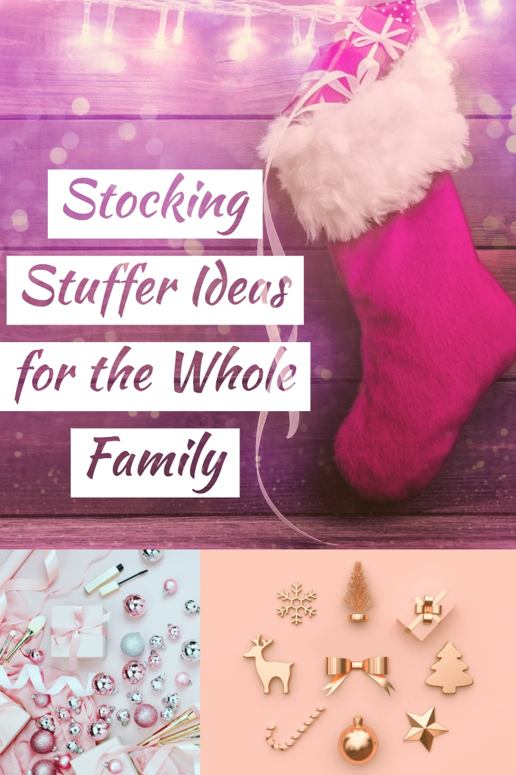 Stockings are one of my favorite parts about Christmas! Here are some stocking stuffer ideas that might work to put in your families stockings this Christmas. Stocking stuffer ideas for every person of the family!