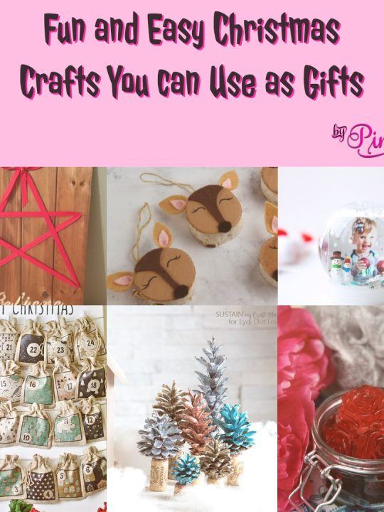 Fun and Easy Christmas Crafts You can Use as Gifts