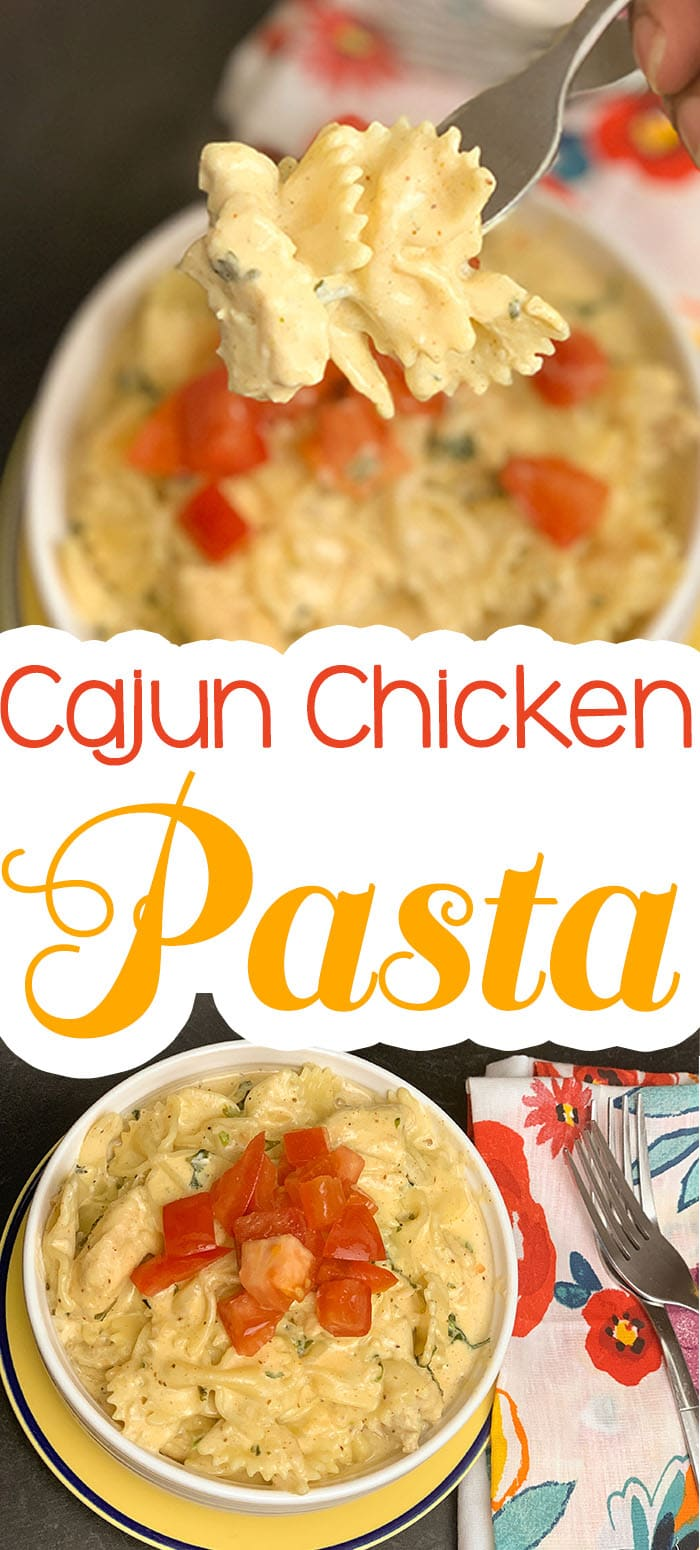 My Cajun Chicken Past is so incredibly easy to make, and the flavor factor will rock your world. #cajun #creole #pasta #instantpot #pastafoodrecipes #chicken #chickenfoodrecipes