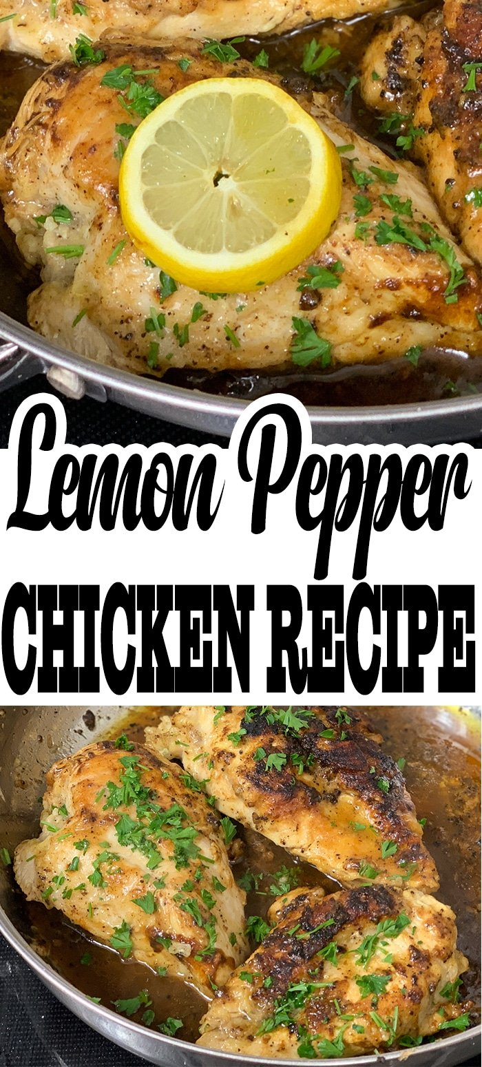 My lemon pepper chicken breast recipe is a tried and true, that I have been making for years. There is something about the pairing of lemon, pepper, and chicken.  #lemon #lemonpepper #lemonpepperchicken #keto #lowcarb