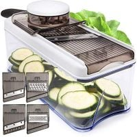 Adjustable Mandoline Slicer Vegetable Slicerits and Vegetables - Grater & Julienne Slicer