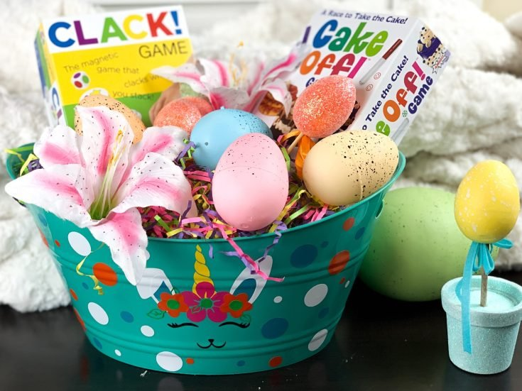 DIY Easter Basket with Free SVG file