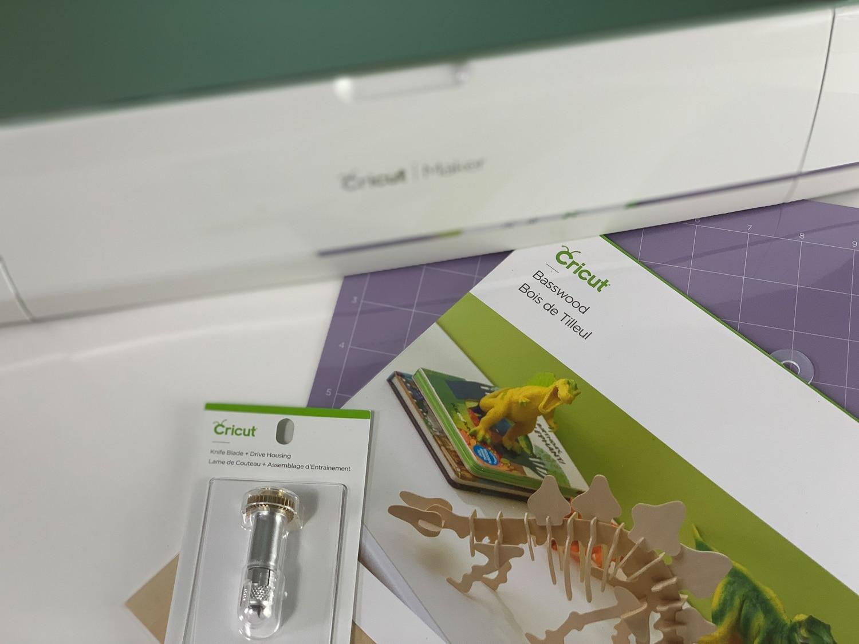How To Cut Wood Earrings With Your Knife Blade #cricutmade #cricutmaker #cricut #cricutprojects