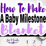 pin image for milestone blanket