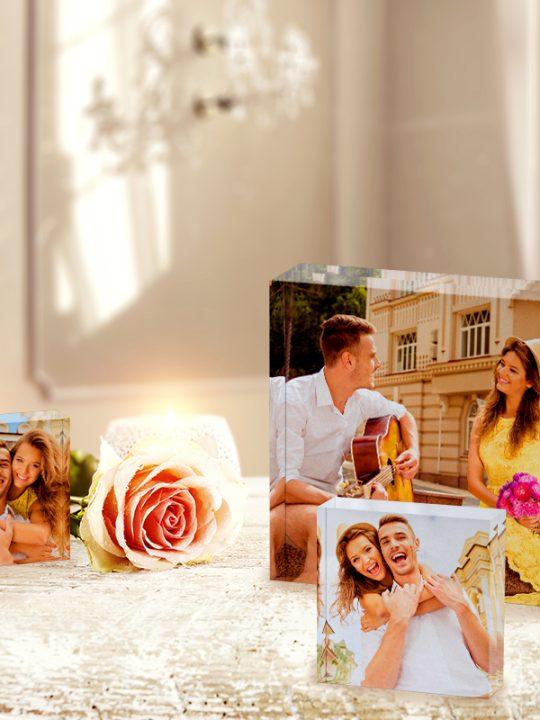 Acrylic Photo Blocks from Canvas Champ