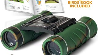 Aluminum Grade Binoculars for Kids with Book and Compass
