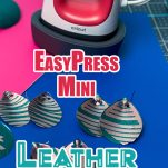 EasyPress Mini Leather Earrings - Pin Image