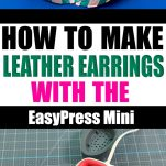 Leather Earrings - Pin Image