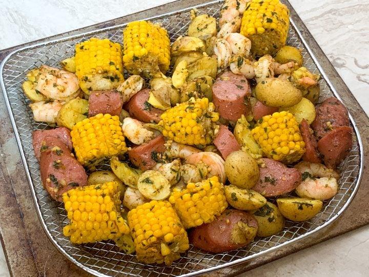 Air Fryer Shrimp Boil Recipe