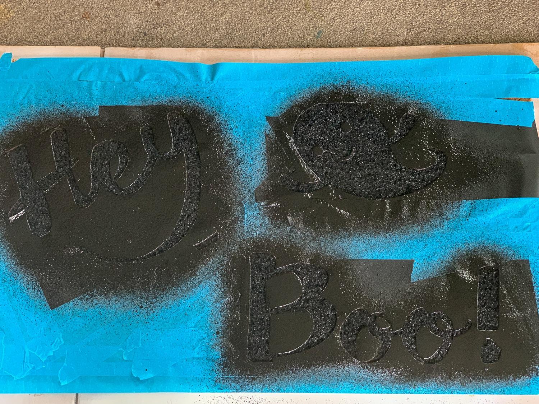 Using Flex Seal On DIY Doormat