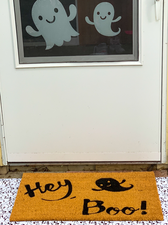 Cricut Halloween Doormat