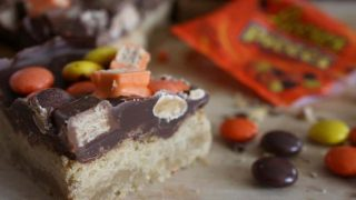 Shortbread Candy Bars