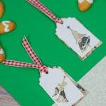 Easy Christmas Gift Tags with Free SVG