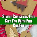 Simple Christmas Tree Gift Tag