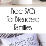 We Are Just Family Free SVG for Family Wall Art