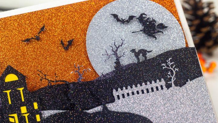 How to Make A Cricut Halloween Scene