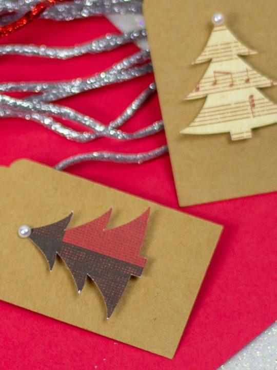 Simple Christmas Tree Gift Tag
