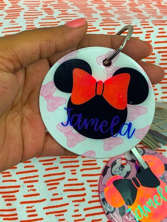 How To Cut Acrylic Sheets For Keychains With Your Cricut Maker