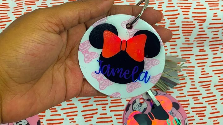 How To Cut Acrylic Sheets For Keychains