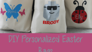 DIY Personalized Easter Bags