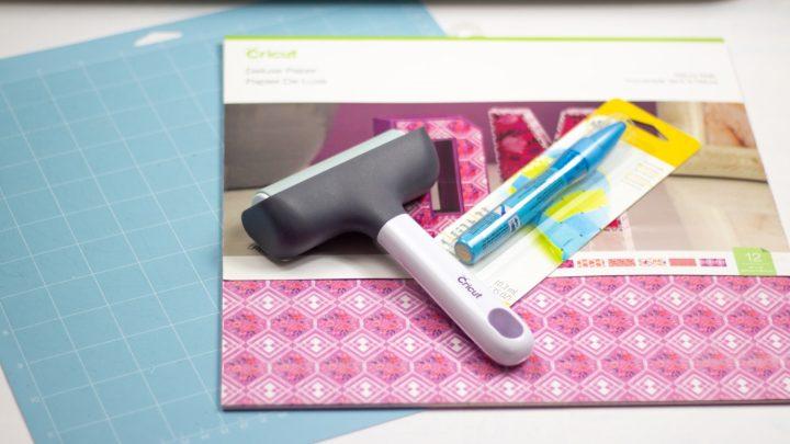 supplies for diy planner pocket folder