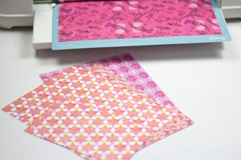 pieces for diy planner pocket folder
