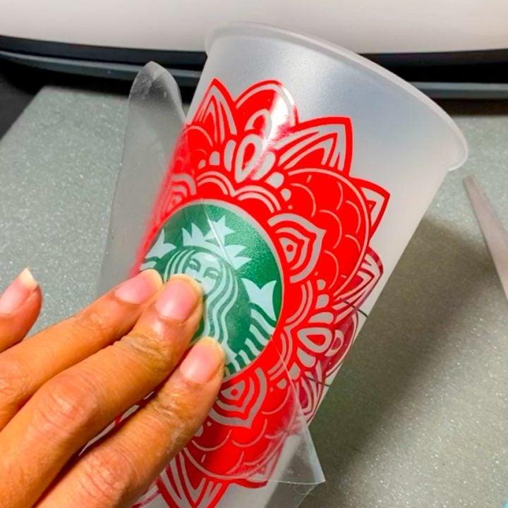 View Template Mandala Starbucks Cup Svg Gif