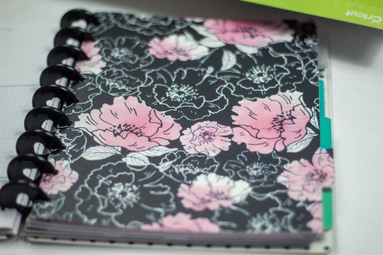 personal planner cover made from dollar tree binders