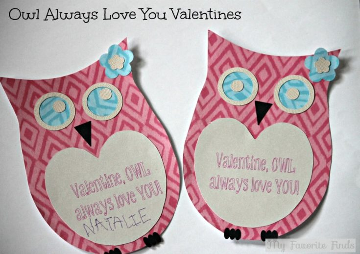 Owl Always Love You Valentines