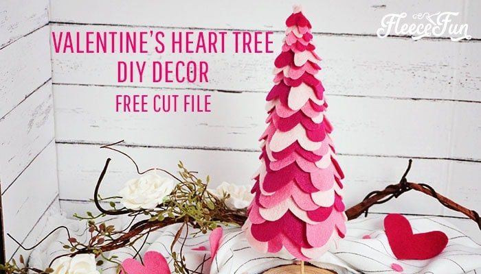Valentine's Day Table Decorations – Heart Tree DIY