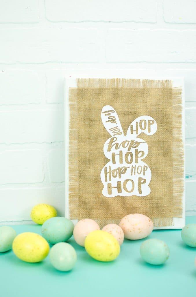 Fun DIY Cricut Easter Home Decor