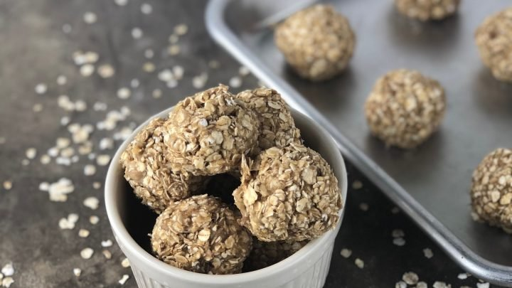 easy breakfast protein balls
