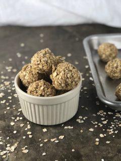 easy snack recipe peanut butter protein balls
