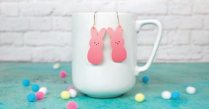 Peeps Easter Earrings