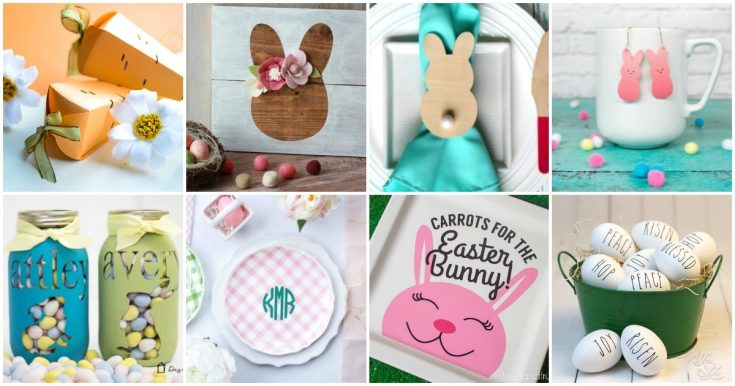 CRICUT EASTER CRAFTS THAT ARE SIMPLE TO MAKE