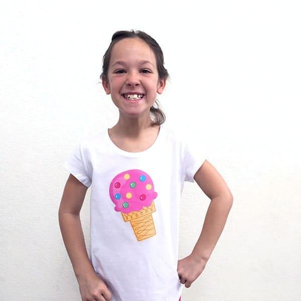 DIY Ice Cream T-shirt