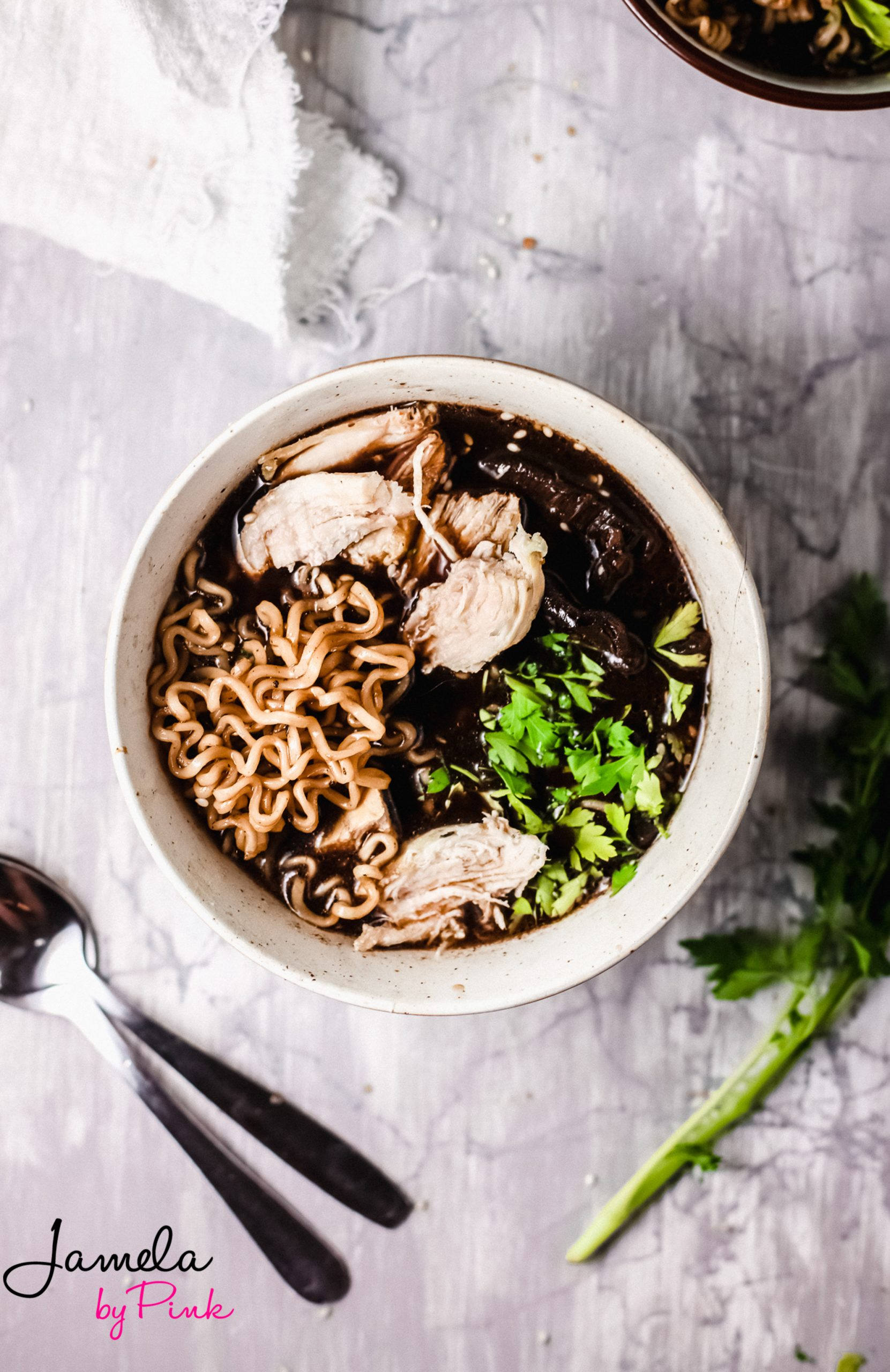 recipe for ramen soup with chicken