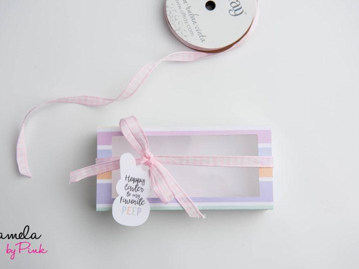 How To Make A Cricut Peeps Bunny Treat Box